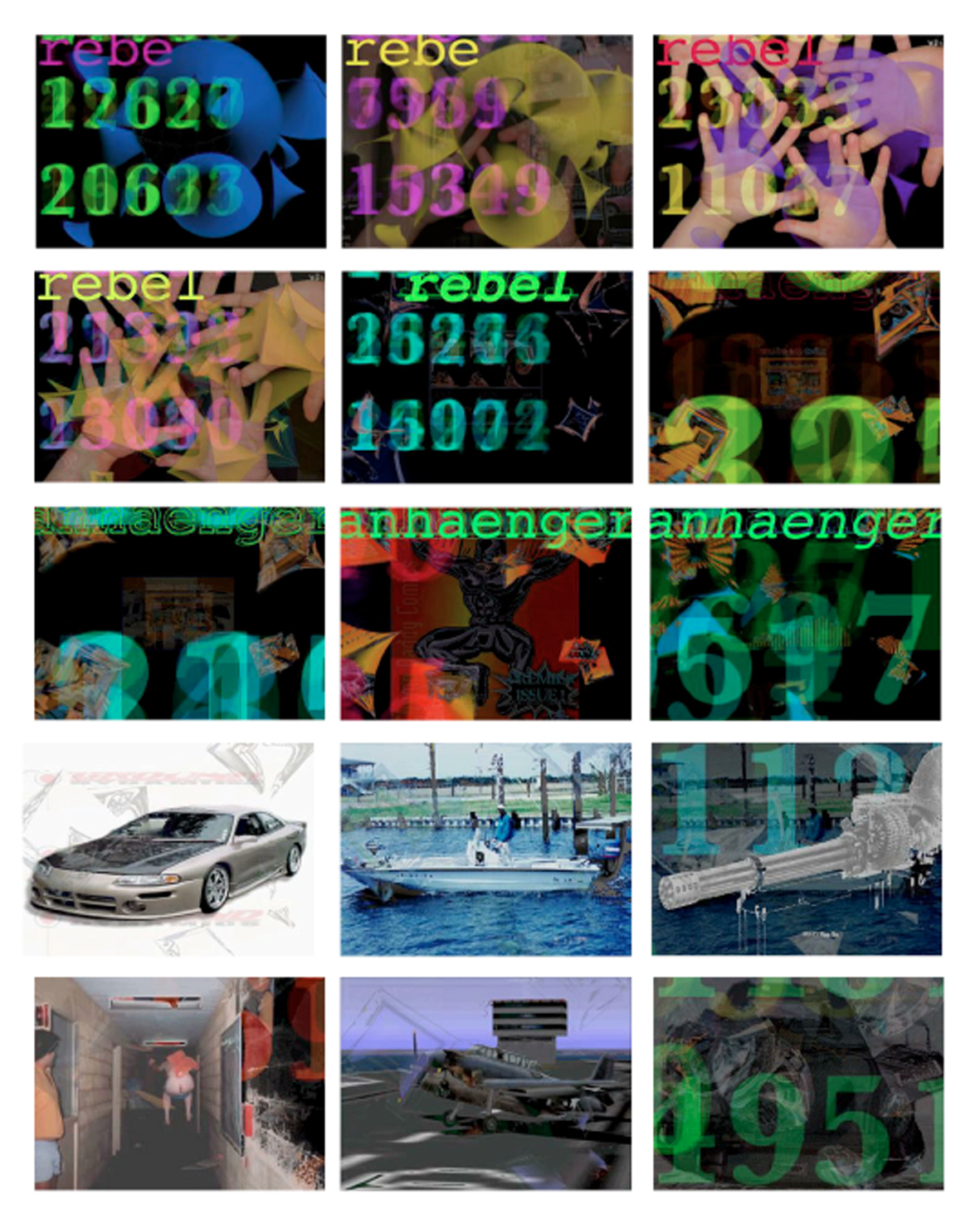 KeyWorx screen shot sequence